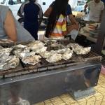 手稲あけぼの夏祭り 焼き牡蠣も販売しました