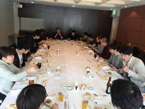 札幌本社忘年会 in 東京ドームホテル
