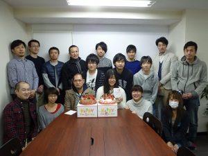 川渕さん・山口さんお誕生日おめでとうございます