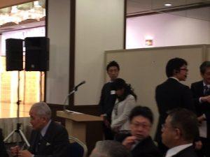 司会は西・手稲地区 会長のリポートサービス北海道 西田さんとゼンリンの道下さん