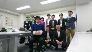 入社して6回目のお誕生日おめでとう!!