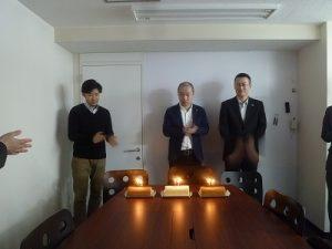 生田目さん、山田(琢)さん、大瀬さん、お誕生日おめでとうございます