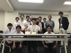 2017年9月 柴田くんお誕生日おめでとう!!