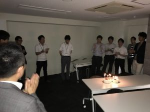 2017年9月 お誕生日会 東京