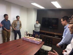 2017年9月 誕生日会 札幌