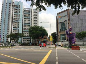 日中の風景 シンガポール