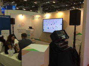 シンガポール クラウドEXPO 展示ブース