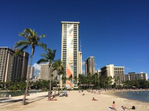 2017-10-30 ハワイ ワイキキビーチ