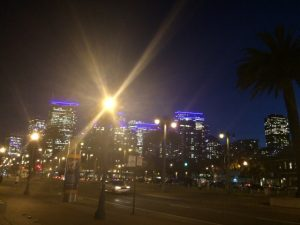 2017-11-07 サンフランシスコの夜景
