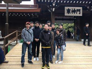 初詣2018 in 東京 明治神宮