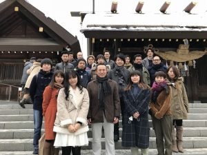 初詣2018 in 札幌 北海道神宮
