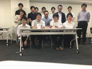 東京誕生日会 2018年8月